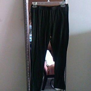 Army green leggings.